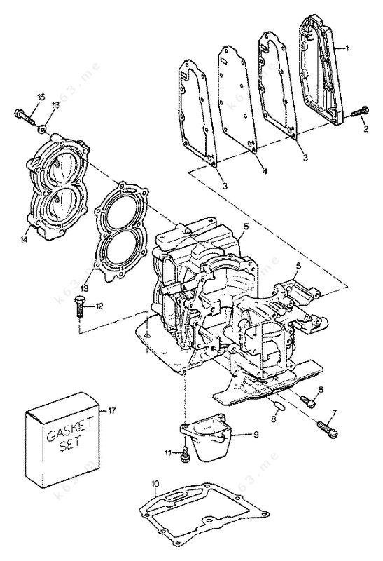 harley davidson cylinder head diagram