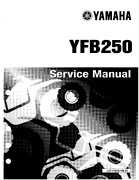 1992-1995 Yamaha Timberwolf 2WD Factory Service Manual