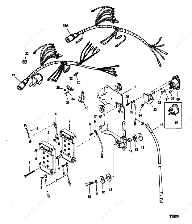 35 Hp Johnson Wiring Harnes Diagram